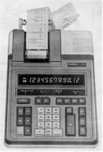 R220 Printer Calculator